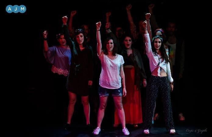 École Atelier Juliette Moltes - La fièvre du lundi soir - Comédie musicale