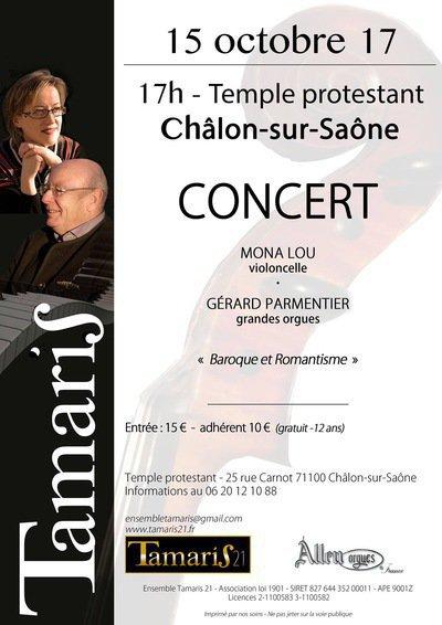 Concert violoncelle et orgues