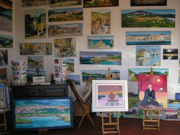 En Corse, stage de peinture ou aquarelle toute l'année