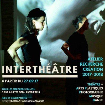 Interthéâtre - Atelier Recherche et Création Théâtre Interdisciplinaire