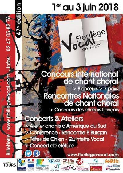 47ème Florilège Vocal de Tours