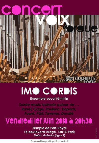 IMO CORDIS ensemble vocal