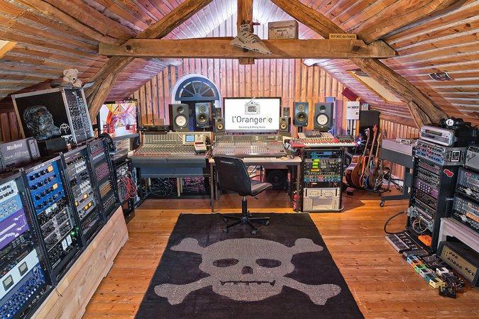 L 39 orangerie studio de mixage et d 39 enregistrement - Table de mixage studio d enregistrement ...