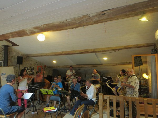 Stage de Jazz petite formation et improvisation dans la drôme des collines