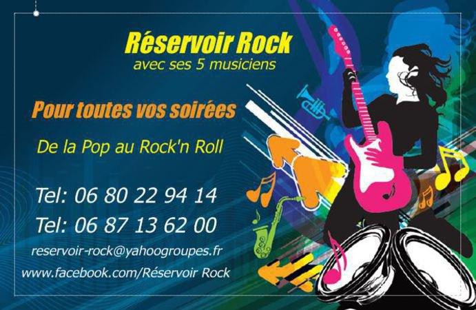 """Groupe Pop-Rock """"Réservoir Rock"""""""