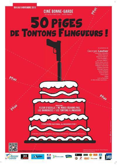 """Le groupe """" LULU LA NANTAISE """" fête les 50 piges des tontons flingueurs avec la présence exceptionnelle de Monsieur Georges Lautner"""