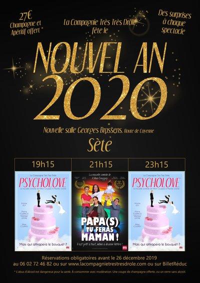 Soiree Du Nouvel An La Compagnie Tres Tres Drole Sete 34200 Mar 31 Dec 19 Spectable