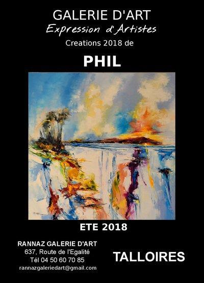 Les créations de PHIL 2018