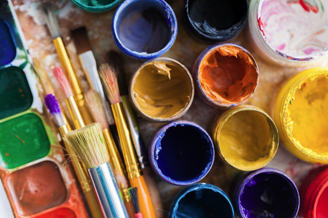 Atelier arts plastiques et bricolages pour les enfants for Art plastique peinture