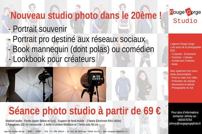 Johnny YIM Photographe / Studio photo sur Paris pour Book