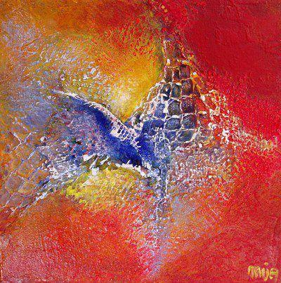 Peinture abstraction et reliefs par mija saint g ly du for Abstraction geometrique peinture