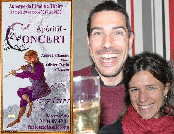 """Apéritif concert baroque """"Agrémens"""""""
