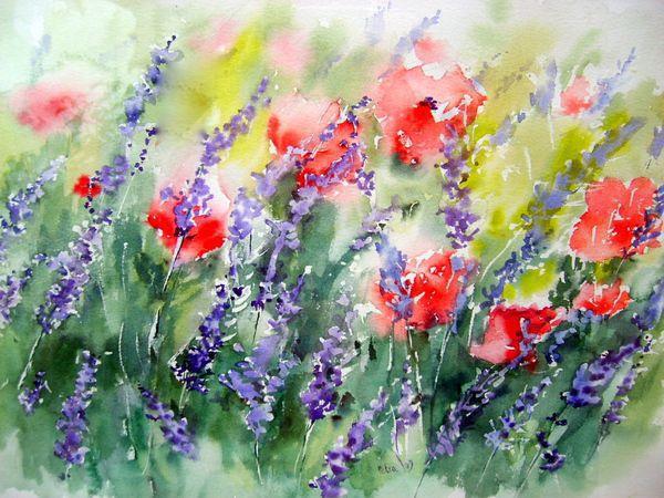 Image Aquarelle stages d'aquarelle ou d'huile et week end peinture en provence
