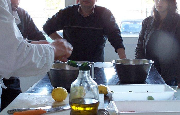 Atelier cuisine fricandeau de noix de veau l 39 oseille - Cours de cuisine rouen ...