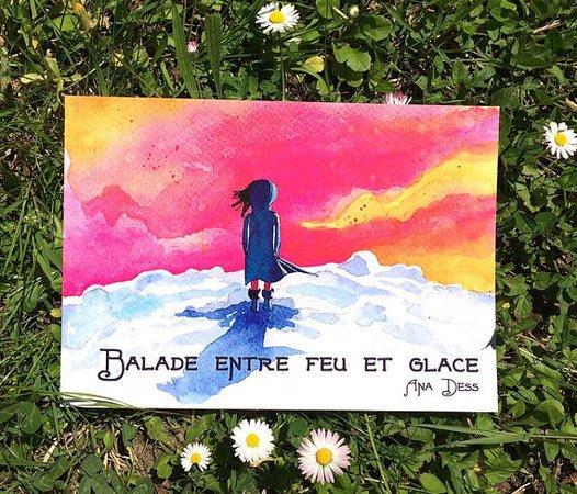 """Carnet de voyage """"Balade entre feu et glace"""""""