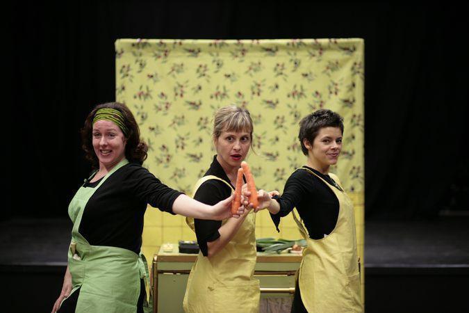Du Bruit Dans La Cuisine Comedie Pour Theatre En Appartement
