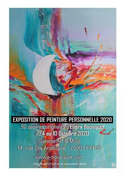 Exposition De Peinture Personnelle 2020 D Eliora Bousquet Paris 03 75003 Du Dim 04 Oct 20 Au Sam 10 Oct 20 Spectable