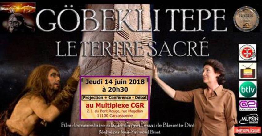 Le Tertre Sacré au CGR de carcassonne