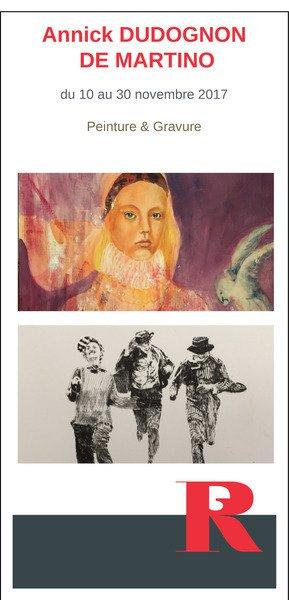 Exposition Annick Dudognon-Martino