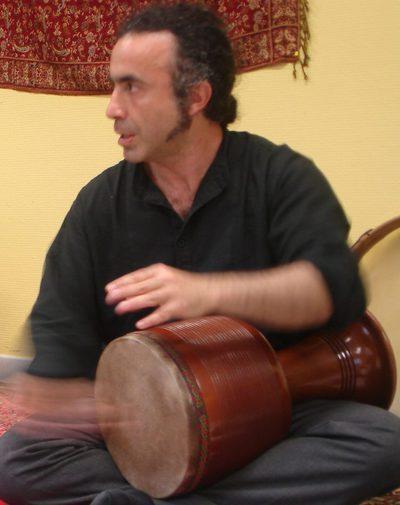 Maison Persane, Fardin Mortazavi - Cours de Tombak (Zarb), de Daf et de Kamânché, percussions persanes