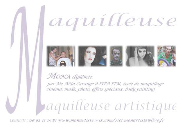 maquilleuse  and art make up