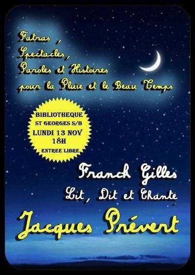 hommage JACQUES PREVERT