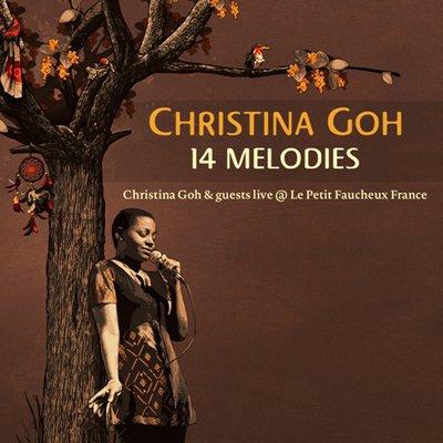 Nouvel album de Christina Goh : 14 MELODIES - L'intensité au rendez-vous