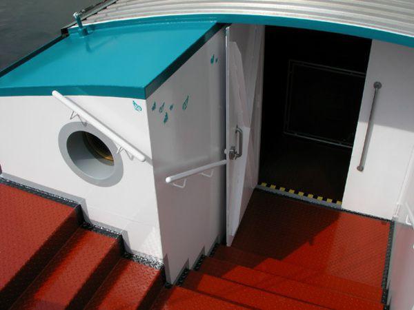 Péniche story-boat