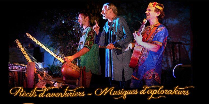 Compagnie Les Griolos - Spectacles, récits d'aventuriers, musiques d'explorateurs.