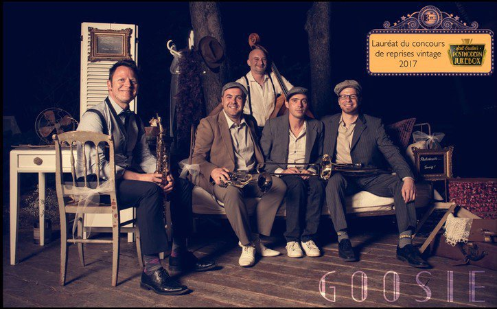 Goosie - Groupe swing pop pour vos animations et événements