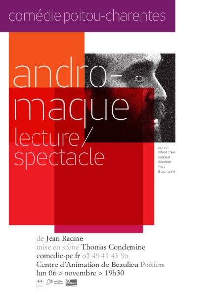 ANDROMAQUE, lecture/spectacle