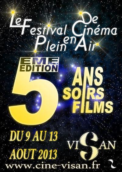 festival de cinema en plein air de Visan
