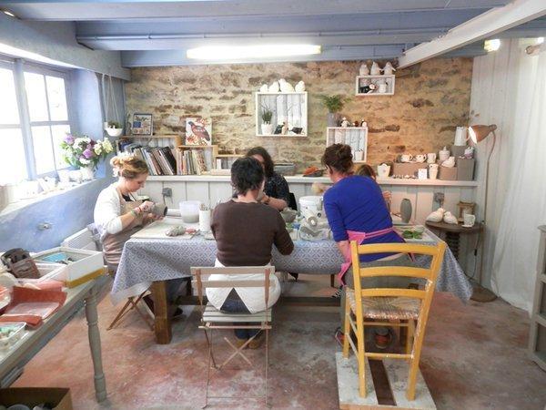 Moineaux & Co - Cours, ateliers et stages de céramique, poterie