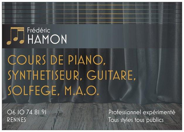 Cours de piano, synthétiseur guitare, solfège, MAO