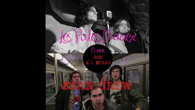 Stan Crew Les Putes D Acier A L Etage Paris 10 75010 Mar