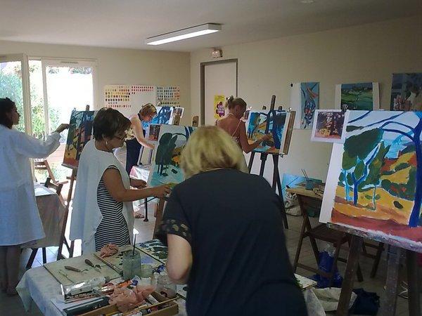 L'Art et la Manière - Cours de peinture  à l'année