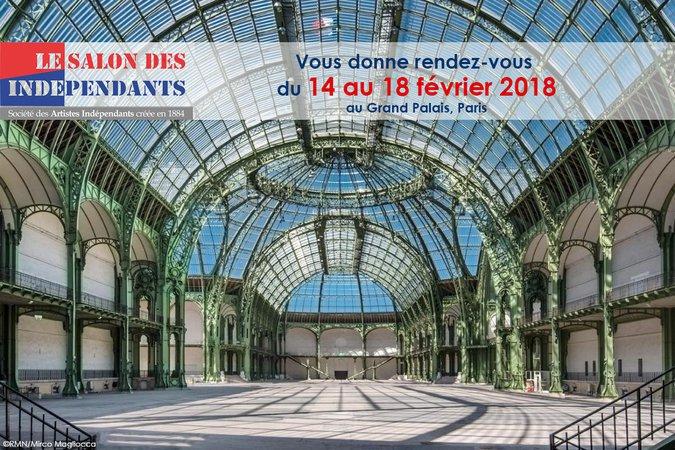 Le salon des ind pendants 2018 paris 08 75008 du for Le salon des independants