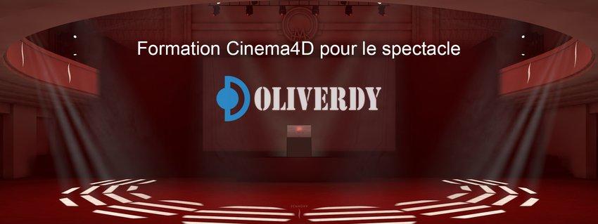 Cinema 4D pour le spectacle | C4D Initiation
