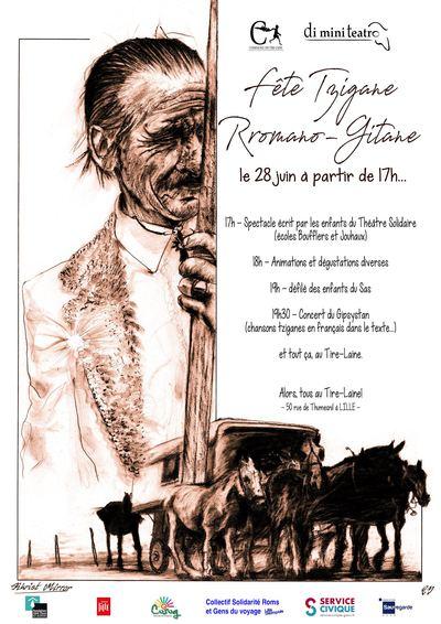 Tous au Tire-Laine : fête tzigane avec di mini teatro