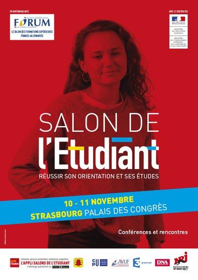 Salon de l 39 etudiant strasbourg 67000 vendredi 10 for Salon etudiant 2017 paris