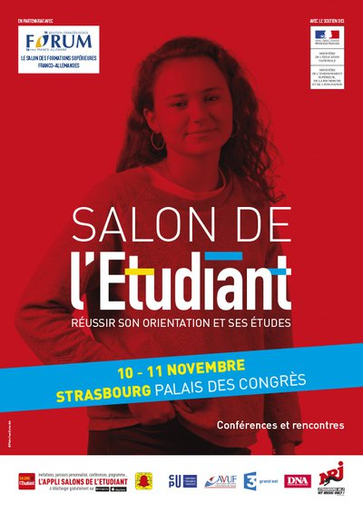 Salon de l 39 etudiant strasbourg 67000 vendredi 10 novembre 2017 et samedi 11 novembre 2017 - Salon de l emploi palais des congres ...