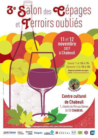 """Salon des vins """"cépages et terroirs oubliés"""""""