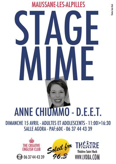 STAGE DE MIME - ANNE CHIUMMO