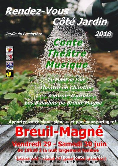 Rendez-Vous Côté Jardin 2018