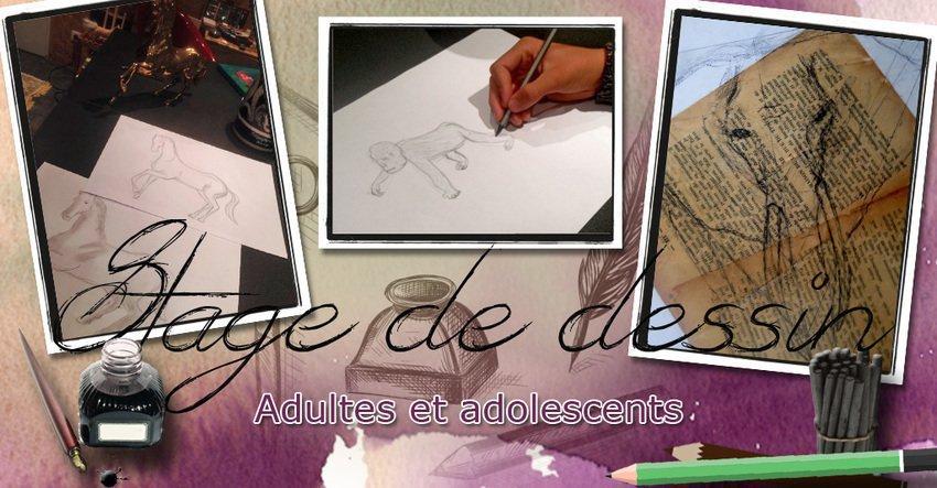 Stage de dessin (Vacances de la Toussaint)