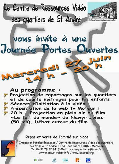 Journée Portes Ouvertes au Centre de Ressources Vidéo des quartiers de St André