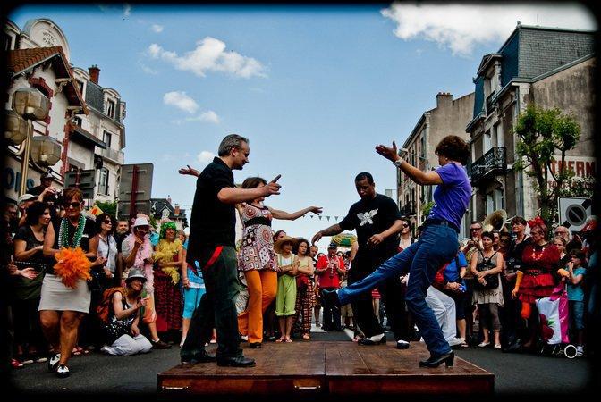 Stage de claquettes dans le cadre du Festival Jazz aux Sources