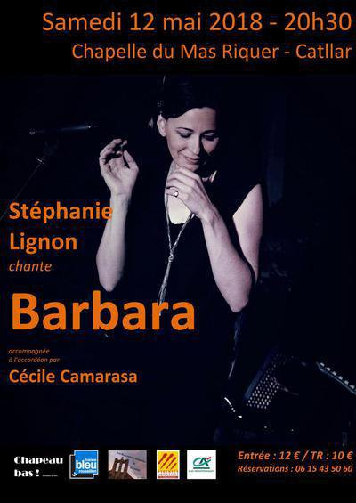 Stéphanie Lignon chante Barbara