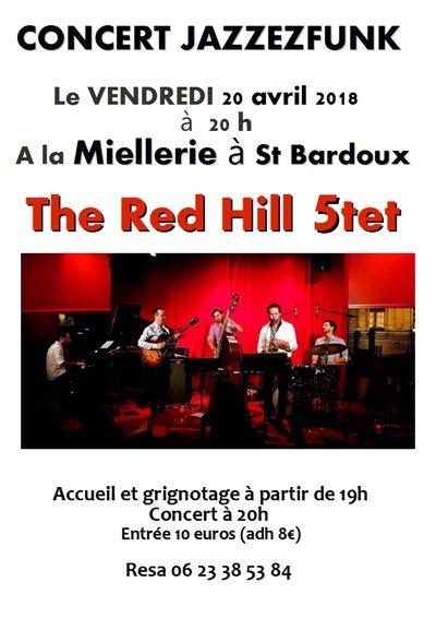 concert JAZZEZFUNK : The Red Hill Quintet