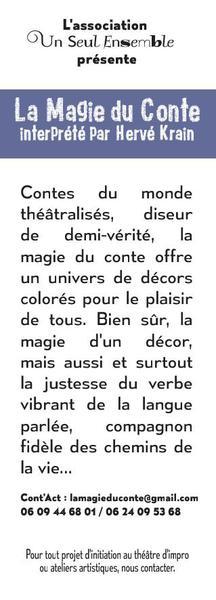 ASSOCIATION UN SEUL ENSEMBLE - La Magie du Conte